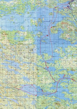 Княжегубское Водоscriptserver2.ruанилище Карта